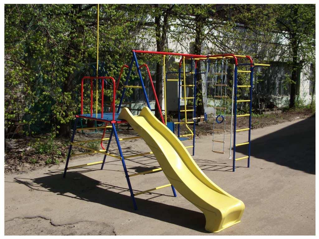 Спортивный комплекс «ПИОНЕР-МОРЯЧОК» предназначен для выполнения различных спортивных упражнений и игр на открытой площадке детей в возрасте от 3-х до 12