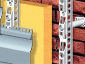 Система крепления фасадов