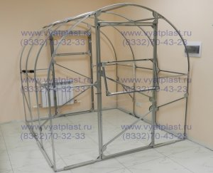 Теплица Слава-4 ширина 2,5м